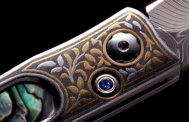 24K Gold & Sterling Silver Koftgari