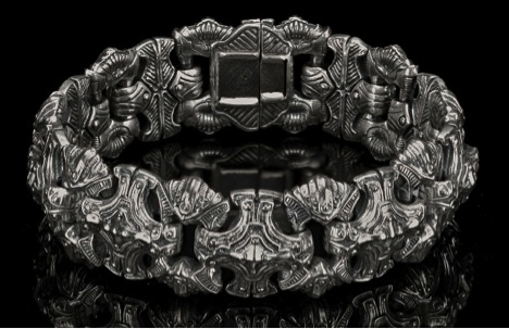 william henry silver bracelet