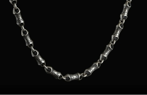 william henry silver necklace