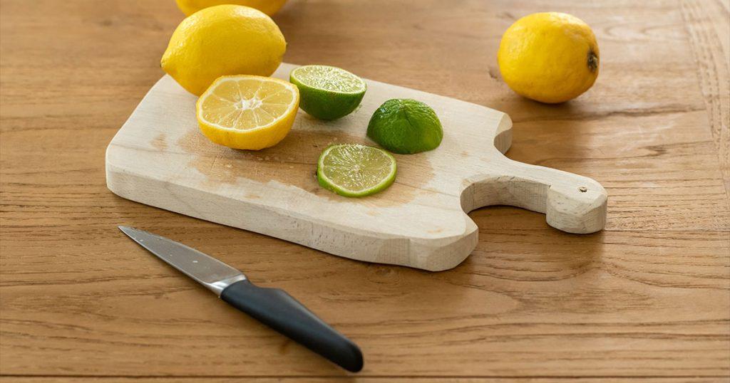 Pocket Knife Cutting Fruit