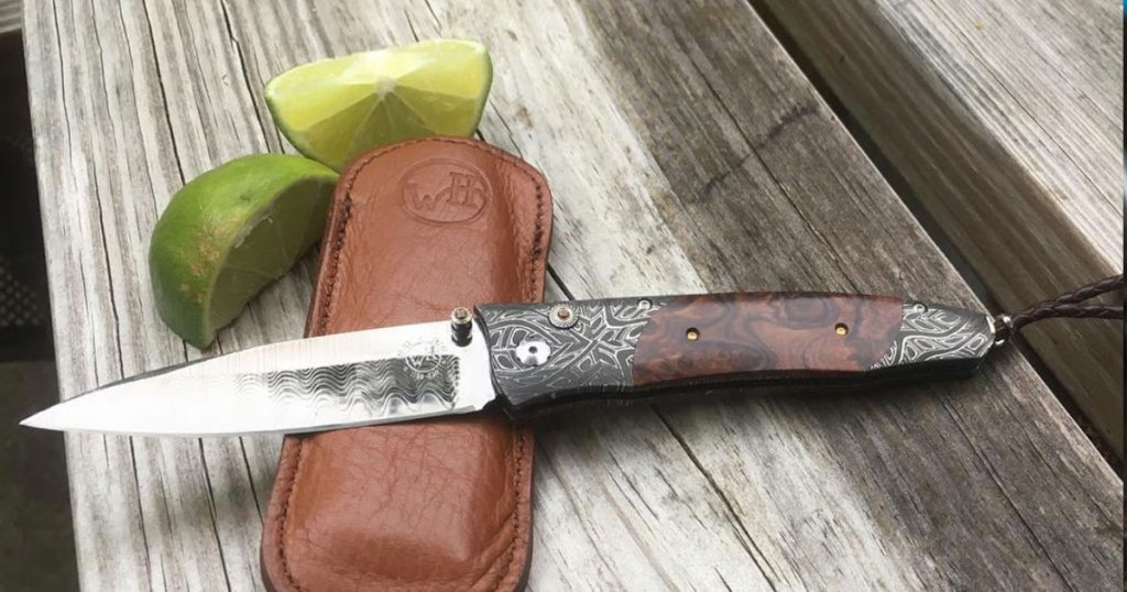 Cutting Lime With a Pocket Knife