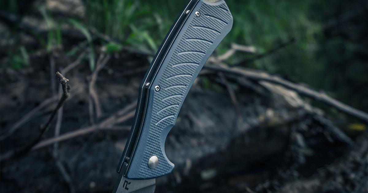 Sharp Black Folding Knife